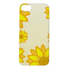 Sunflowers Flower Floral Yellow Apple Iphone 5s/ Se Hardshell Case