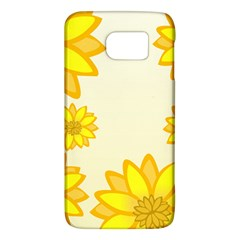 Sunflowers Flower Floral Yellow Galaxy S6 by Mariart