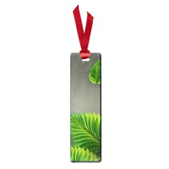 Leaf Green Grey Small Book Marks by Mariart