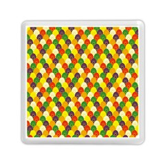 Flower Floral Sunflower Color Rainbow Yellow Purple Red Green Memory Card Reader (square)  by Mariart
