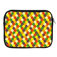 Flower Floral Sunflower Color Rainbow Yellow Purple Red Green Apple Ipad 2/3/4 Zipper Cases by Mariart