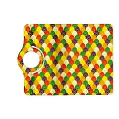 Flower Floral Sunflower Color Rainbow Yellow Purple Red Green Kindle Fire Hd (2013) Flip 360 Case by Mariart