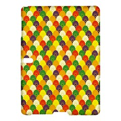 Flower Floral Sunflower Color Rainbow Yellow Purple Red Green Samsung Galaxy Tab S (10 5 ) Hardshell Case  by Mariart