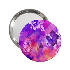 Littie Birdie Abstract Design Artwork 2 25  Handbag Mirrors by Nexatart