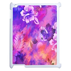 Littie Birdie Abstract Design Artwork Apple Ipad 2 Case (white) by Nexatart
