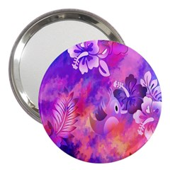 Littie Birdie Abstract Design Artwork 3  Handbag Mirrors by Nexatart