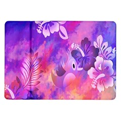 Littie Birdie Abstract Design Artwork Samsung Galaxy Tab 10 1  P7500 Flip Case