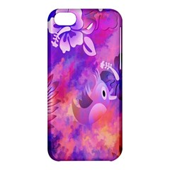 Littie Birdie Abstract Design Artwork Apple Iphone 5c Hardshell Case