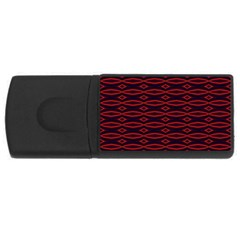 Repeated Tapestry Pattern Abstract Repetition Usb Flash Drive Rectangular (4 Gb) by Nexatart