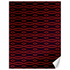 Repeated Tapestry Pattern Abstract Repetition Canvas 12  X 16   by Nexatart