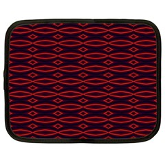 Repeated Tapestry Pattern Abstract Repetition Netbook Case (xxl)