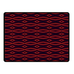 Repeated Tapestry Pattern Abstract Repetition Fleece Blanket (small) by Nexatart