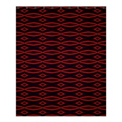 Repeated Tapestry Pattern Abstract Repetition Shower Curtain 60  X 72  (medium)  by Nexatart