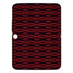 Repeated Tapestry Pattern Abstract Repetition Samsung Galaxy Tab 3 (10 1 ) P5200 Hardshell Case