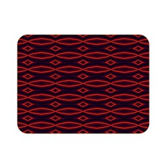 Repeated Tapestry Pattern Abstract Repetition Double Sided Flano Blanket (mini)  by Nexatart
