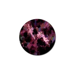 Grunge Purple Abstract Texture Golf Ball Marker by Nexatart