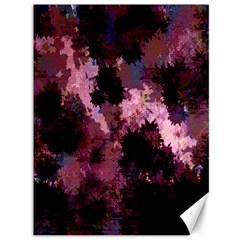 Grunge Purple Abstract Texture Canvas 36  X 48