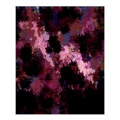 Grunge Purple Abstract Texture Shower Curtain 60  X 72  (medium)  by Nexatart