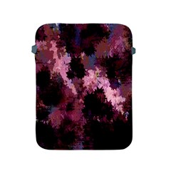 Grunge Purple Abstract Texture Apple Ipad 2/3/4 Protective Soft Cases