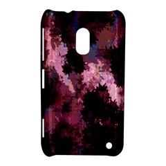 Grunge Purple Abstract Texture Nokia Lumia 620