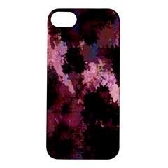 Grunge Purple Abstract Texture Apple Iphone 5s/ Se Hardshell Case