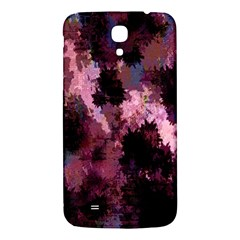 Grunge Purple Abstract Texture Samsung Galaxy Mega I9200 Hardshell Back Case by Nexatart