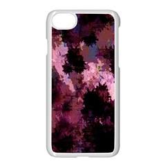 Grunge Purple Abstract Texture Apple Iphone 7 Seamless Case (white) by Nexatart