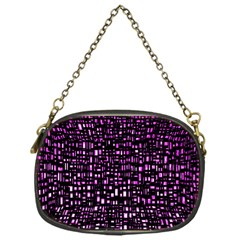 Purple Denim Background Pattern Chain Purses (one Side)  by Nexatart