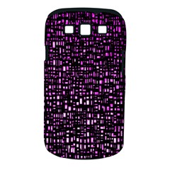 Purple Denim Background Pattern Samsung Galaxy S Iii Classic Hardshell Case (pc+silicone)