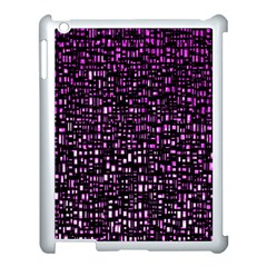 Purple Denim Background Pattern Apple Ipad 3/4 Case (white) by Nexatart