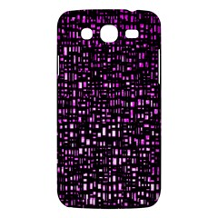 Purple Denim Background Pattern Samsung Galaxy Mega 5 8 I9152 Hardshell Case  by Nexatart