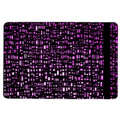 Purple Denim Background Pattern Ipad Air Flip by Nexatart