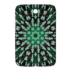Abstract Green Patterned Wallpaper Background Samsung Galaxy Note 8 0 N5100 Hardshell Case