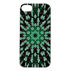 Abstract Green Patterned Wallpaper Background Apple Iphone 5s/ Se Hardshell Case