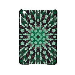 Abstract Green Patterned Wallpaper Background Ipad Mini 2 Hardshell Cases
