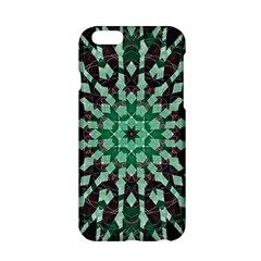 Abstract Green Patterned Wallpaper Background Apple Iphone 6/6s Hardshell Case by Nexatart