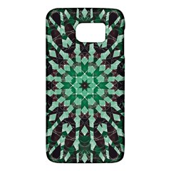 Abstract Green Patterned Wallpaper Background Galaxy S6 by Nexatart