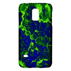 Abstract Green And Blue Background Galaxy S5 Mini by Nexatart