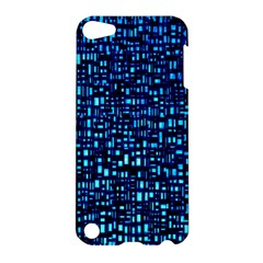 Blue Box Background Pattern Apple Ipod Touch 5 Hardshell Case by Nexatart