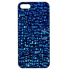 Blue Box Background Pattern Apple Iphone 5 Hardshell Case With Stand by Nexatart