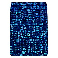 Blue Box Background Pattern Flap Covers (s)  by Nexatart