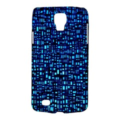 Blue Box Background Pattern Galaxy S4 Active