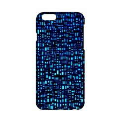 Blue Box Background Pattern Apple Iphone 6/6s Hardshell Case by Nexatart