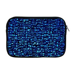 Blue Box Background Pattern Apple Macbook Pro 17  Zipper Case by Nexatart
