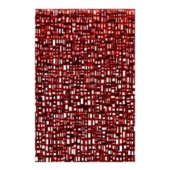 Red Box Background Pattern Shower Curtain 48  X 72  (small)  by Nexatart