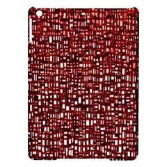 Red Box Background Pattern Ipad Air Hardshell Cases