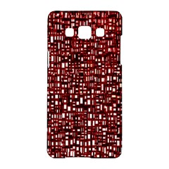 Red Box Background Pattern Samsung Galaxy A5 Hardshell Case  by Nexatart