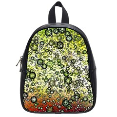 Chaos Background Other Abstract And Chaotic Patterns School Bags (small)  by Nexatart