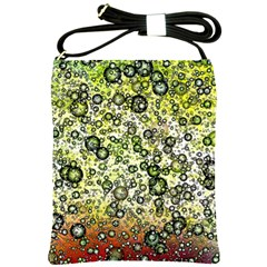 Chaos Background Other Abstract And Chaotic Patterns Shoulder Sling Bags by Nexatart