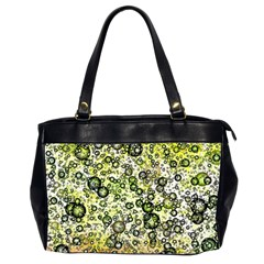 Chaos Background Other Abstract And Chaotic Patterns Office Handbags (2 Sides)  by Nexatart